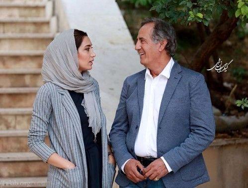 عکس فیس تو فیس مجید مظفری و خانم بازیگر