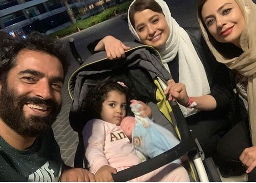 گردش دختر شریفی نیا با خانواده یکتا ناصر+عکس
