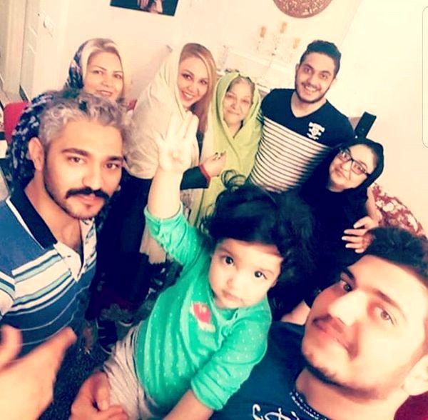 بهنوش بختیاری در جمع خانوادگی اش+عکس