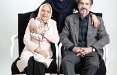 متین ستوده و والدینش + عکس