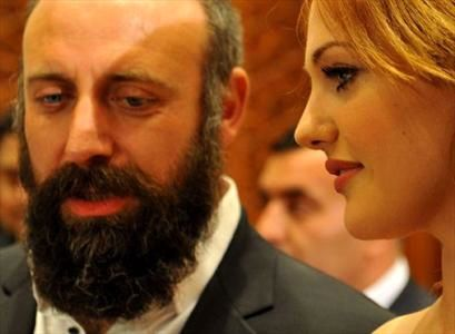 خرم وسلطان سلیمان درمراسم بهترین فیلم ترکیه +عکس