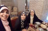 رستوران گردی مژده لواسانی با دوستانش+عکس