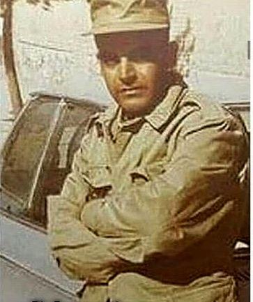 دوران سربازی حمید لولایی + عکس