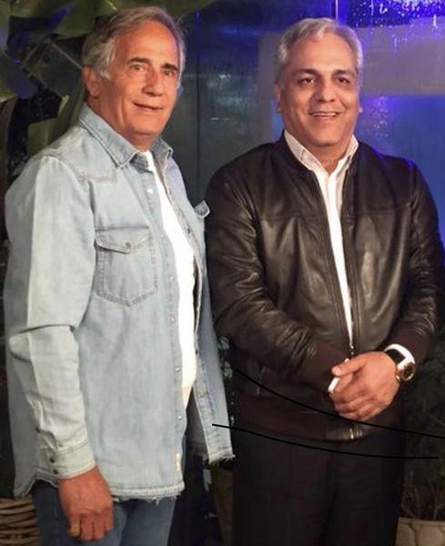 مهران مدیری و مجید مظفری در کنار هم + عکس