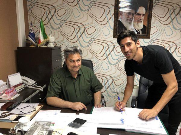 ثبت قرارداد تبریزی در هیأت فوتبال