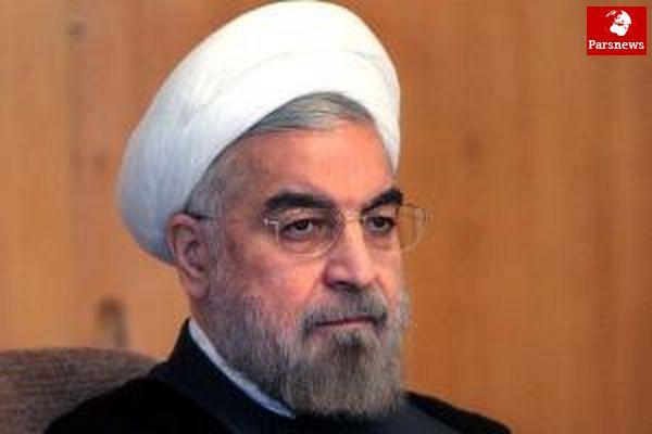 روحانی:نمیگذاریم تروریسم در منطقه گسترش یابد
