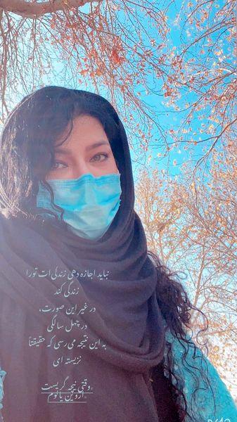 سلفی جدید همسر شهاب حسینی + عکس
