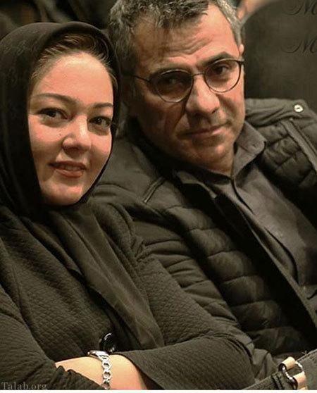 رزیتا غفاری و همسرش+عکس