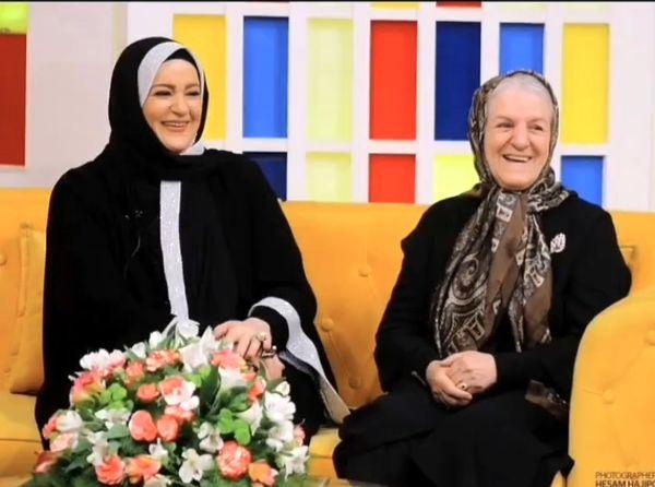 نعیمه نظام دوست در کنار مادرش + عکس