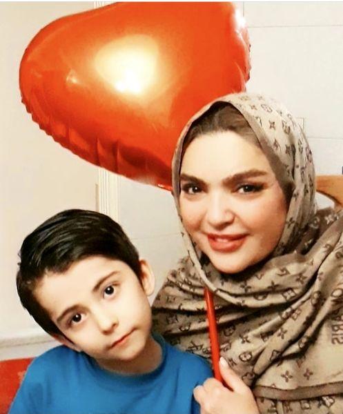 شهرزاد عبدالمجید در تولد خواهرزاده اش + عکس