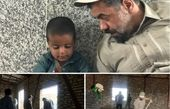 مداح معروف در اردوی جهادی