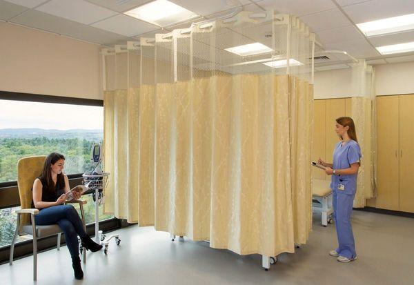 تاثیر کرونا بر دکوراسیون بیمارستان و ظهور پرده بیمارستانی آنتی باکتریال