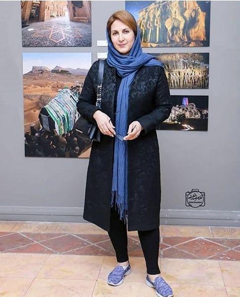 فاطمه گودرزی در یک گالری عکس + عکس