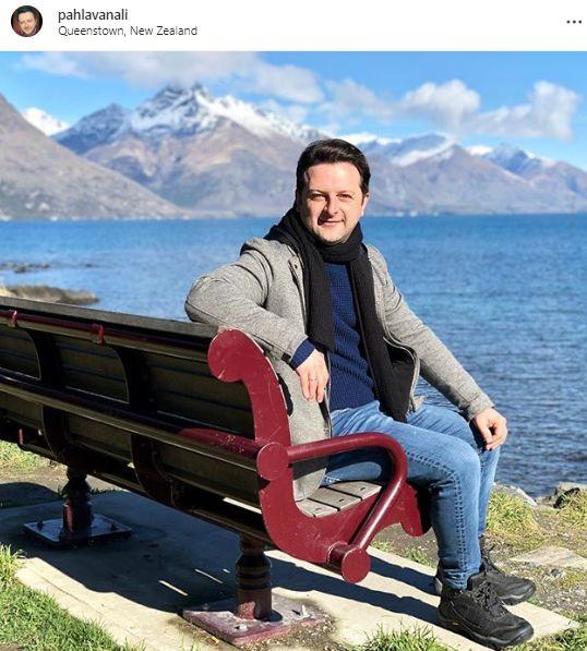 گشت و گذار خواننده گروه آریان در نیوزلند+عکس