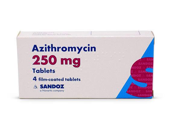 همه چیز درباره داروی آزیترومایسین
