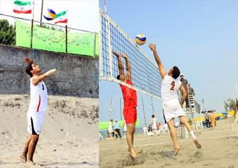 والیبال ساحلی معلولان با قهرمانی نماینده گنبد به پایان رسید
