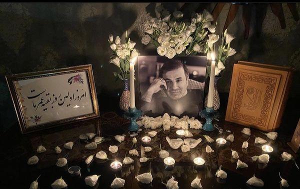 شام غریبان علی سلیمانی در خانه اش + عکس