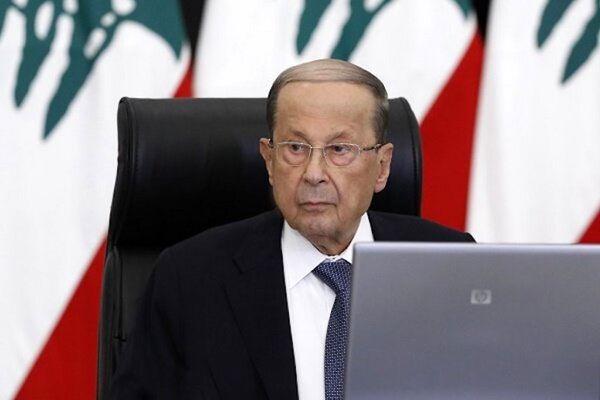 رئیس جمهور لبنان استعفای دیاب را پذیرفت