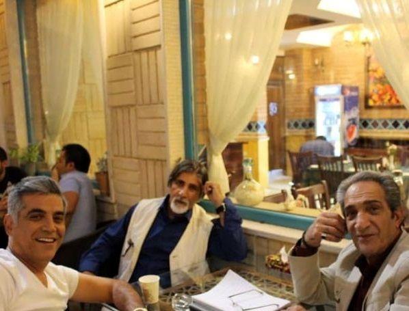 بازیگر ایرانی میان ستارگان مشهور جهانی+عکس