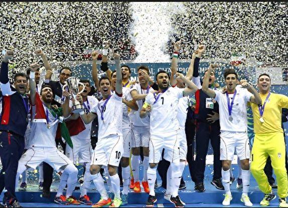 تیم ملی فوتسال ایران بر بام قاره آسیا