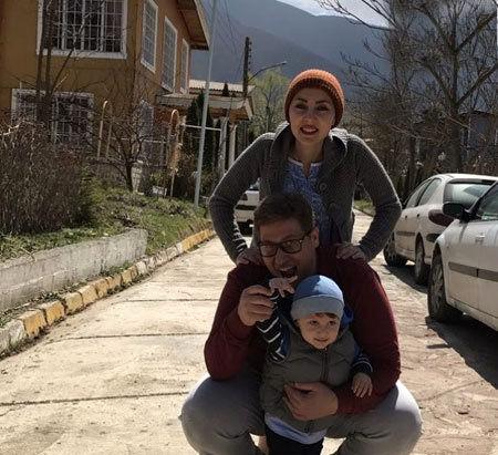 سفر خانوادگی مهسا کرامتی به خارج از کشور+عکس