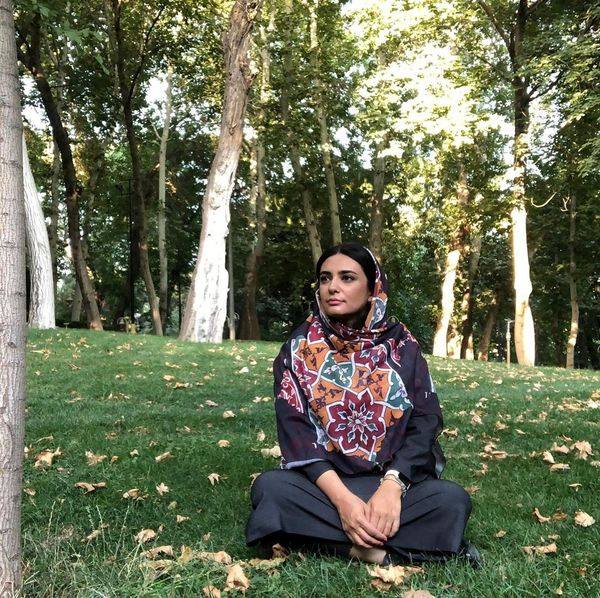 لیندا کیانی در باغ با اصالت+عکس