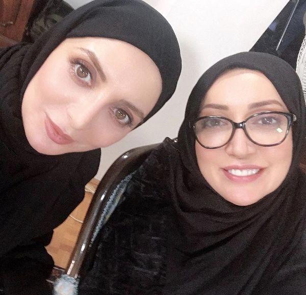 سلفی رویا میرعلمی و نگار عابدی + عکس