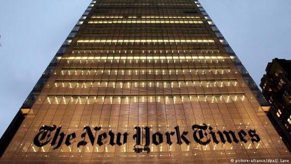 جنگ ترامپ با نیویورکتایمز بالا گرفت