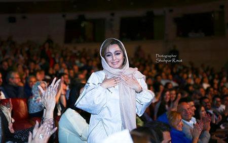 بازیگری که در جشن حافظ گریه کرد+عکس