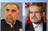 لاریجانی با رئیس مجلس پاکستان رایزنی کرد
