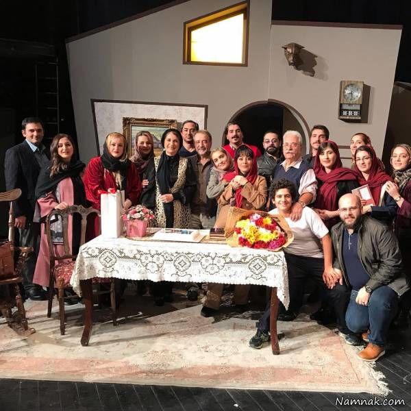 جشن تولد فریبا کوثری با حضور هنرمندان