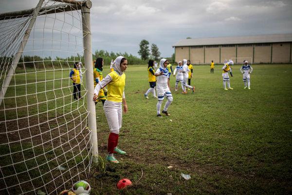 روایت الجزیره از زنان فوتبالیست ایران + عکس