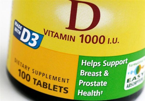 ۵۸ درصد مردان ۱۴ تا ۲۰ ساله کمبود ویتامین D دارند