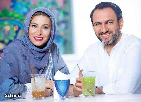 فریبا نادری در کنار همسرش + عکس