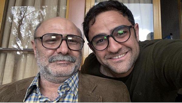 پدر کامیونی علی هاشمی + عکس