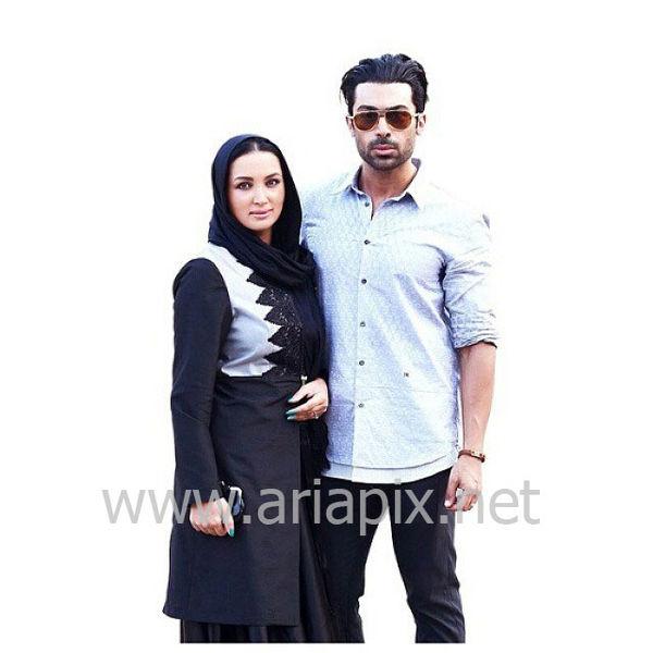 عکس روناک یونسی و همسرش در ایران
