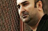 مهران احمدی در پشت حصار + عکس
