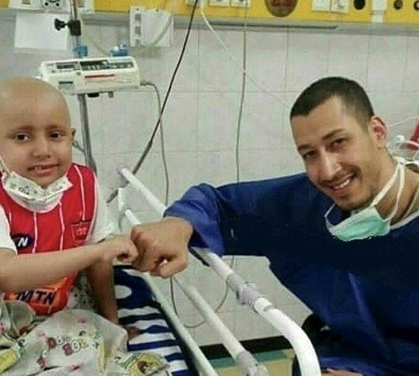بهرام افشاری به بیمارستان رفت + عکس