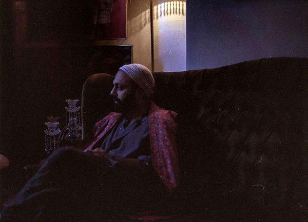 صابر ابر در خانه سنتی اش + عکس