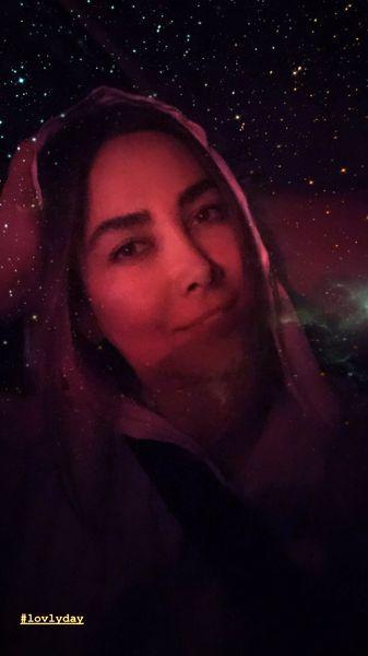 شب پر ستاره آنا نعمتی + عکس