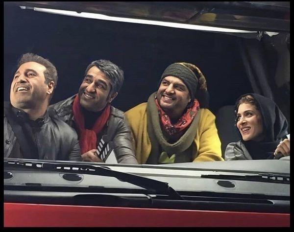 رانندگی ویشکا آسایش با کامیون + عکس