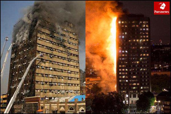 شمار جانباختگان آتش سوزی در برج «گرنفل» به 79 نفر رسید