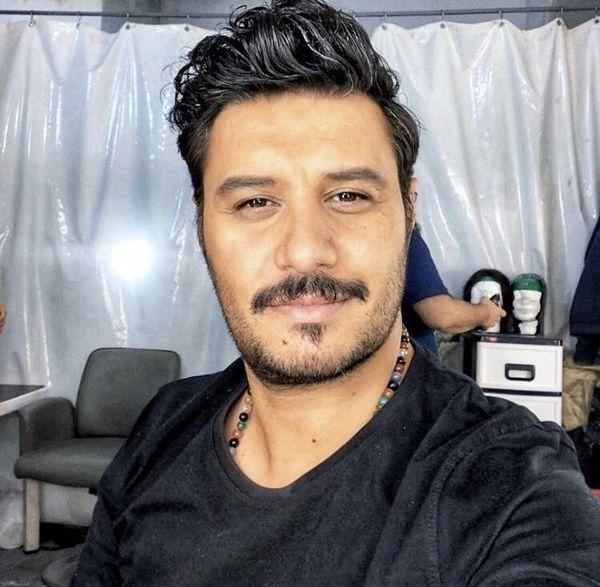 چهره جدید جواد عزتی + عکس