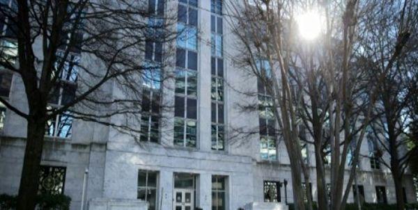 تجمع اعتراضی مقابل سفارت عربستان در واشنگتن
