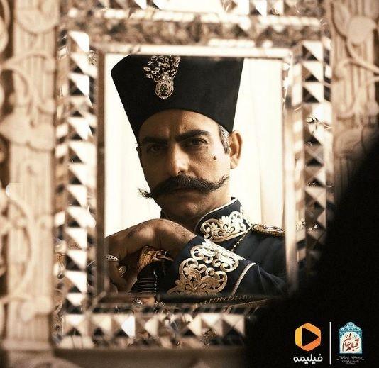 حامد کمیلی قبله عالم را بازی میکند + عکس