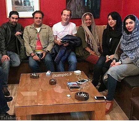 دیدار خانوادگی شهاب حسینی و هومن برق نورد+عکس