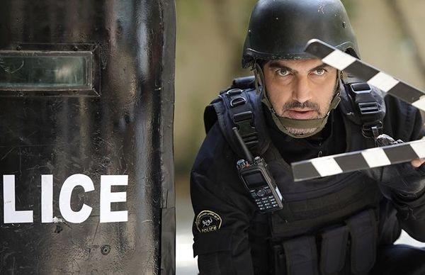 کوروش سلیمانی در لباس پلیس + عکس