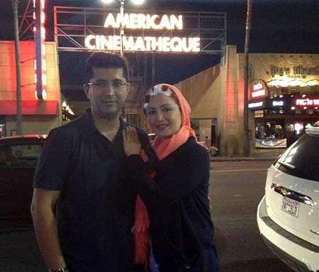 شیلا خداداد و آقای دکتر در خارج از کشور+عکس
