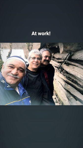 امیر غفارمنش و نادر سلیمانی سر کار جدیدشون + عکس
