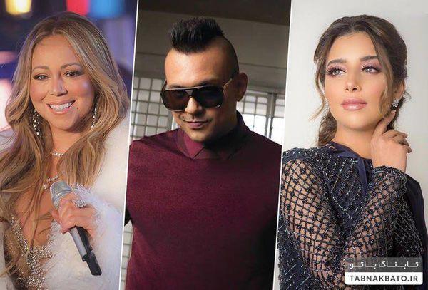 کنسرت خواننده معروف هالیوود و بلقیس در عربستان